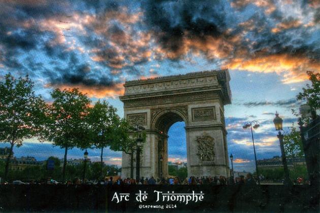 Arc de Triomphe @terewong 2014